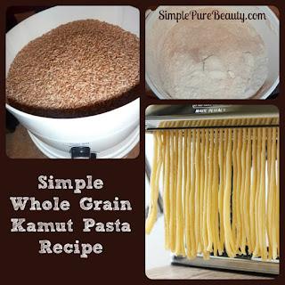 Kamut Pasta Noodles Recipe