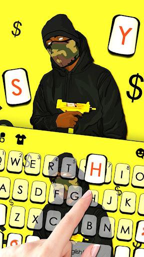 Swag Boy Keyboard Theme cheat hacks