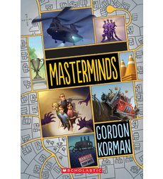 Image result for masterminds book by gordon korman