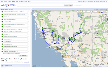 Photo: The Trip: Approx. 2600 miles.