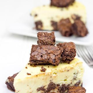 Brownie Bite Cheesecake.