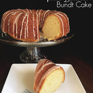 Butter Vanilla Bundt Cake Recipes.