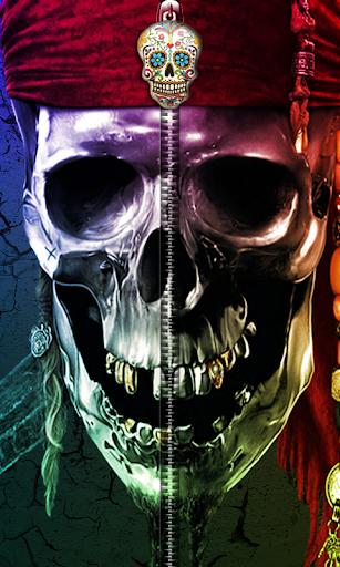 Skull Zipper UnLock