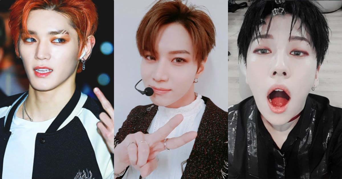 10 Male Idols Who Rock Bold Eyeshadow The Best Koreaboo
