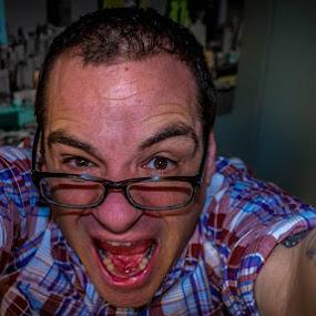 Psycho Killer! by Randy Burt - People Portraits of Men