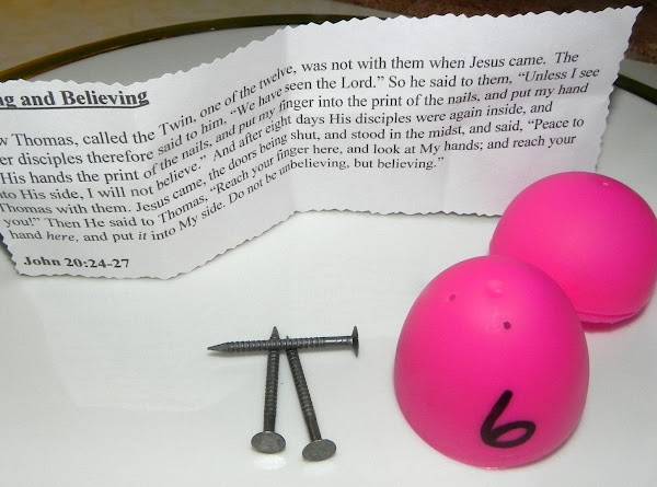 Egg 6Seeing and Believing Now Thomas, called the Twin, one of the twelve, was...