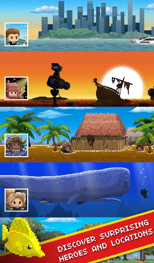 Desert Island Fishing- screenshot
