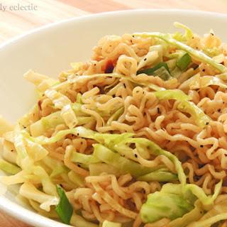 Oriental Ramen Noodle Cabbage Salad.
