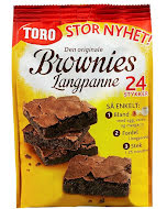 Toro Brownies Langpanne 883 g