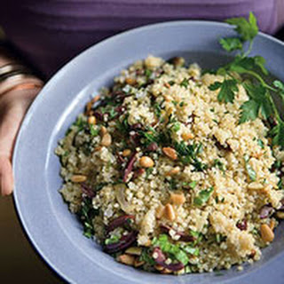 Quinoa with Herbs and Mixed Olives