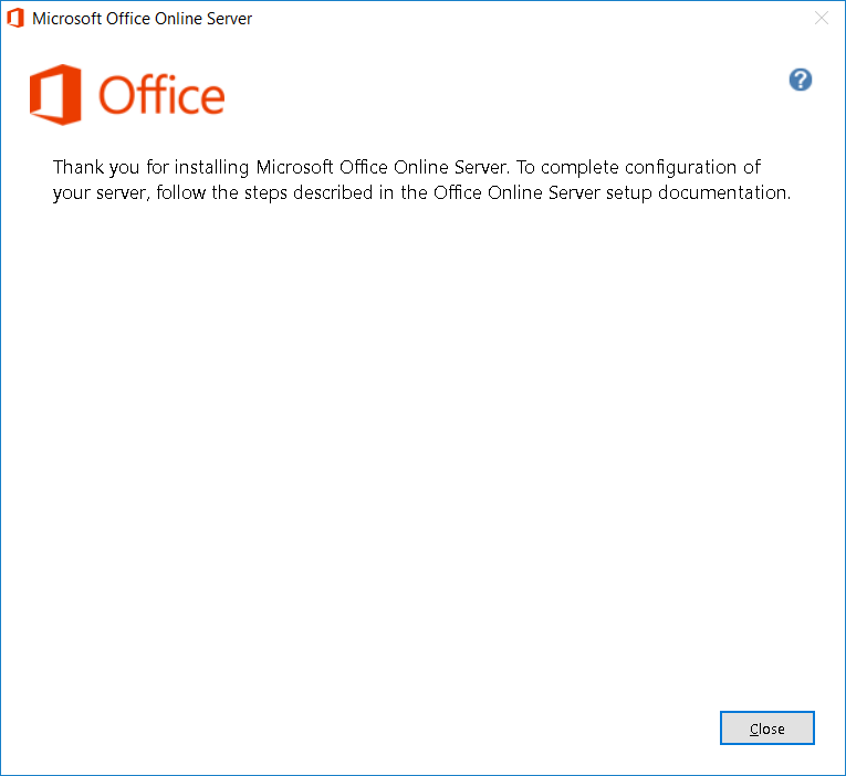 Terence Luk: Deploying Office Online Server 2019 on Windows