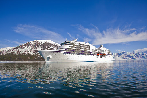 Enjoy smooth sailing on Regent's Seven Seas Navigator in Alaska.