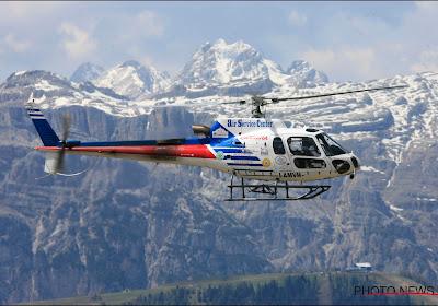 """Renner die viel in Giro door laaghangende helikopter heeft ziekenhuis verlaten: """"Gelukkig leeft hij nog"""""""