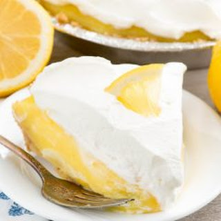 No Bake Lemon Cream Pie.