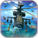 Stealth Gunship Helicopter Battle-War Commandor icon