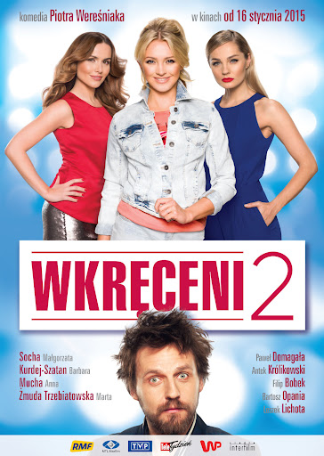 Polski plakat filmu 'Wkręceni 2'