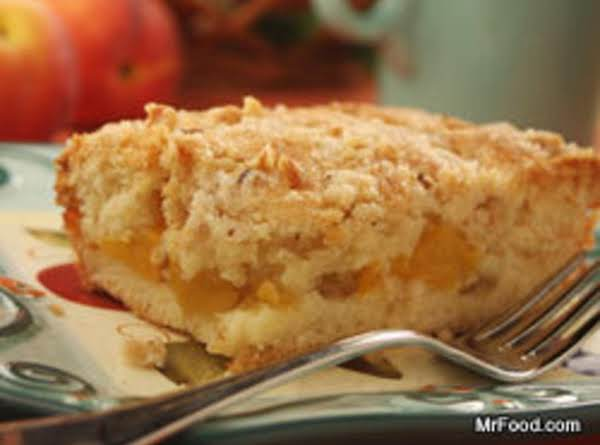 Peach Pie Coffee Cake Recipe