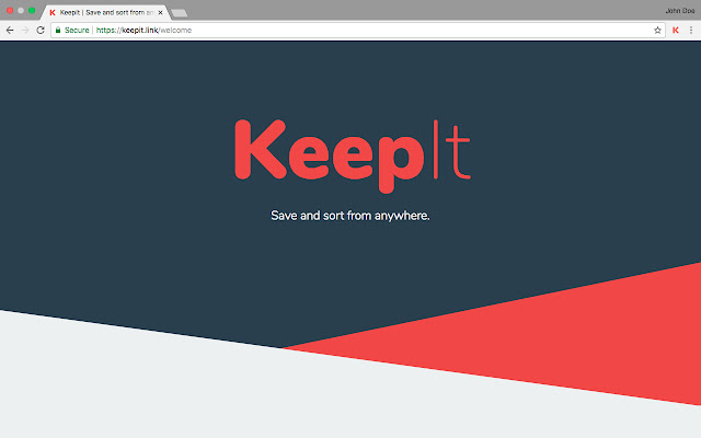KeepIt — save and sort from anywhere