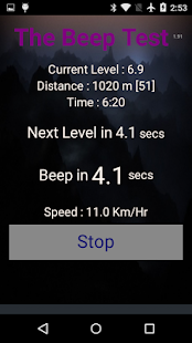 Beep Test- screenshot thumbnail