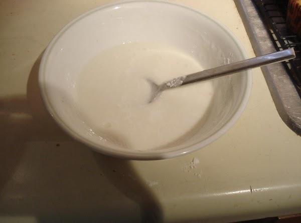 GlazeAdd powdered sugar to a small bowlSlowly add milk until glaze becomes desired consistencyDrizzle...