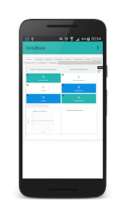 UnisBook - Administrace - náhled