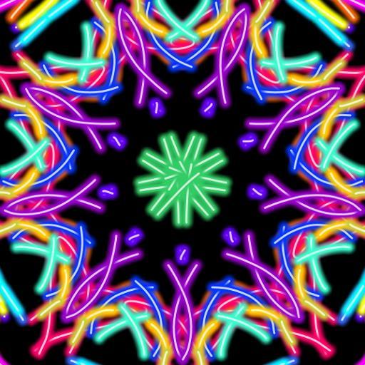 Magic Paint Kaleidoskope 遊戲 App LOGO-硬是要APP
