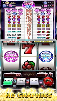 Slots Triple Double Diamond - screenshot
