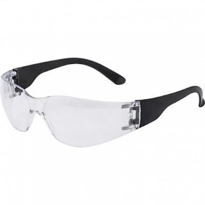 Очки защитные открытые Ми поликарбонатные, прозрачные ОЧК201 (0-13021)