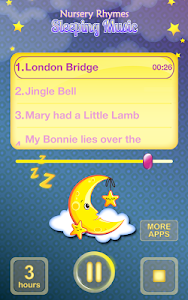 Nursery Rhymes Sleeping Music screenshot 5