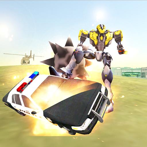 Flying Robot Ball Simulator:Flight Drive Game 2019 Android APK Download Free By Naxos Games Studio
