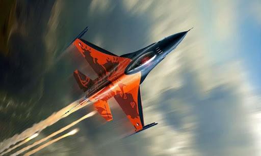 Aircraft 3D Wallpaper