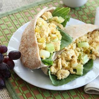 "Vegan ""Egg"" Salad Sandwich."
