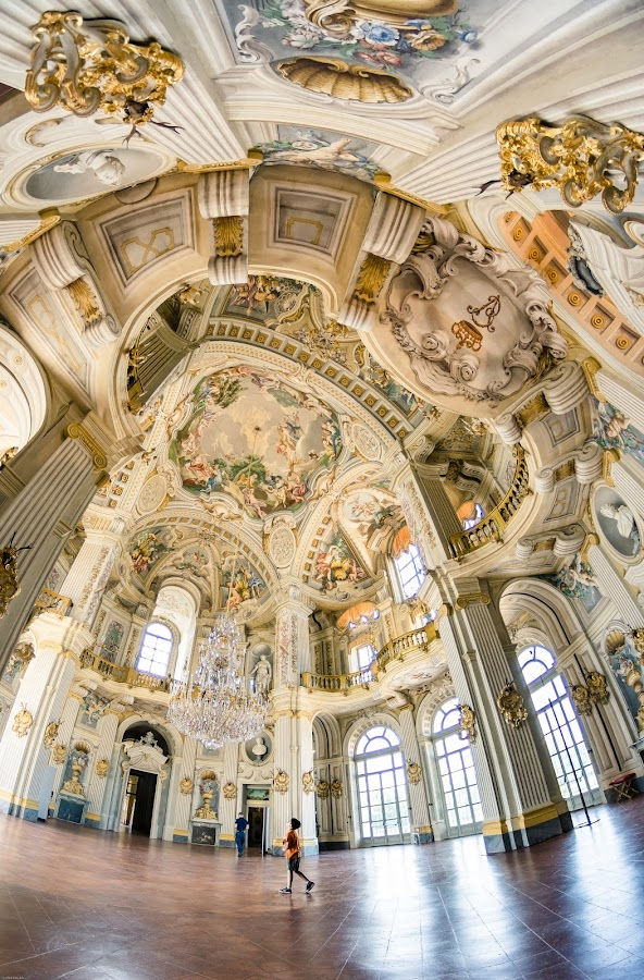Baroque by Florin  Galan - Buildings & Architecture Architectural Detail ( torino, history, baroque, details, color, turin, architecture, palace )