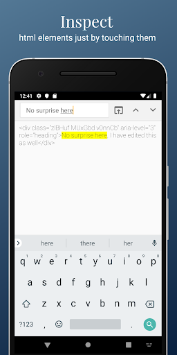 HTML/CSS Website Inspector screenshot 3