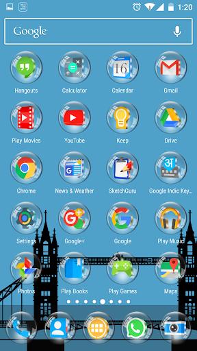 Glass 3D Icon Pack  screenshots 8