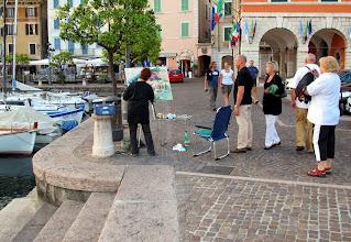 Photo: Malen in Gargnano am Gardasee