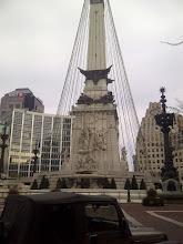 Photo: Monument Circle, Indpls, IN