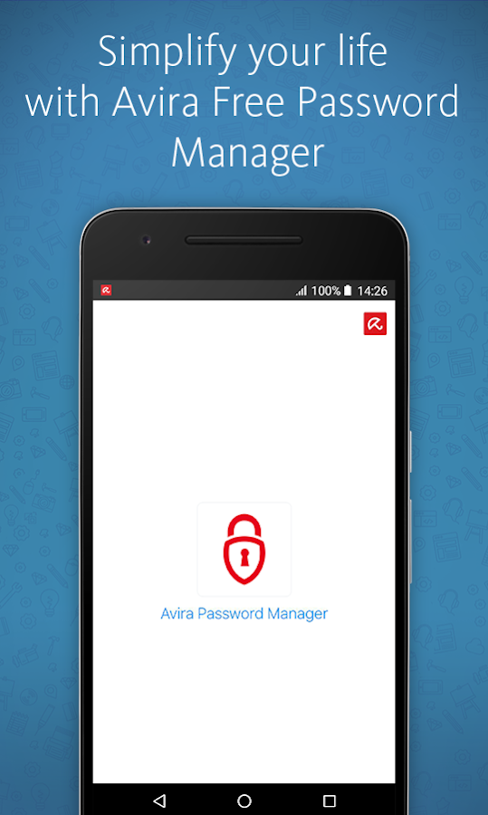 Avira Password Manager- screenshot
