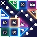 Bricks Breaker - Glow Balls icon