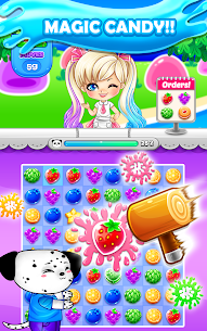 Candy Sweet Fruits Blast  – Match 3 Game 2020 6
