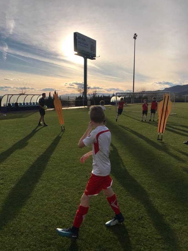 Voetbalstage Valencia 2017