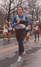 Photo: 1984 Boston Marathon, qualifying for Olympic Trials