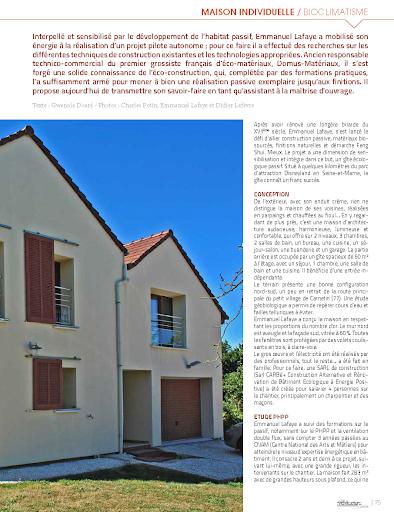 Hors-Série Habitat Naturel - Maison Passive - LCG - 2