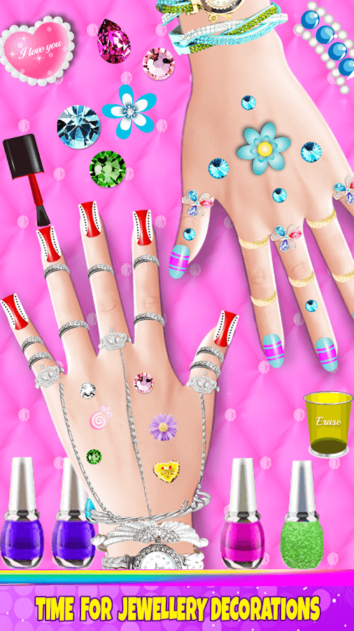Nail salon girl games android apps on google play nail salon girl games screenshot prinsesfo Images