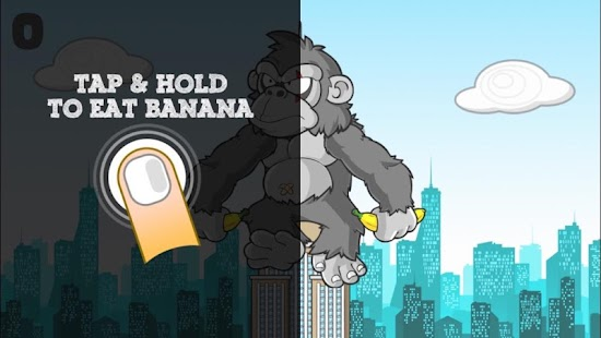Kong Want Banana: Gorilla game- screenshot thumbnail