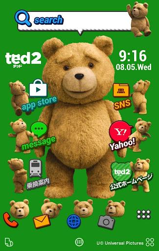 ted2[テッド2] 壁紙きせかえ