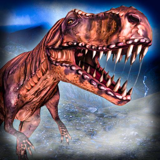 Dinosaur: T-Rex Simulator 3D 模擬 LOGO-玩APPs