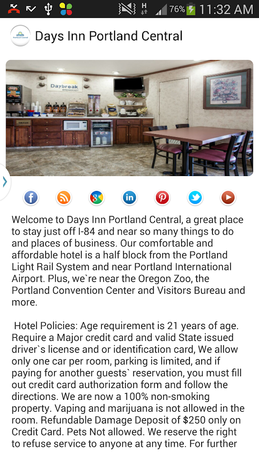 Days Inn Portland Central- screenshot