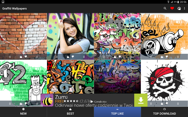Google themes graffiti - Graffiti Wallpapers 4k Screenshot