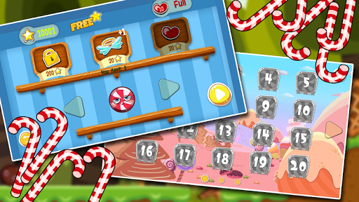 Red Candy Ball Adventure 1.0.6 screenshots 2